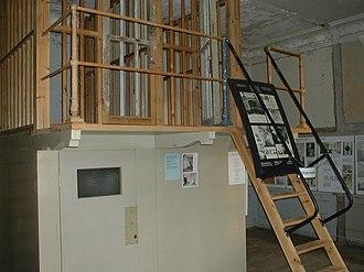 Svartsjö Palace - Reconstructed prison cells