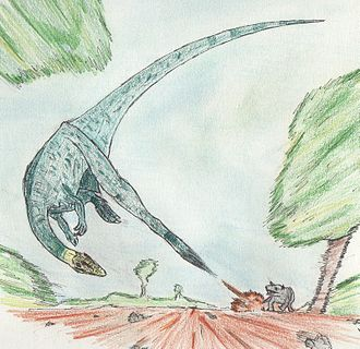1913 in paleontology - Procompsognathus