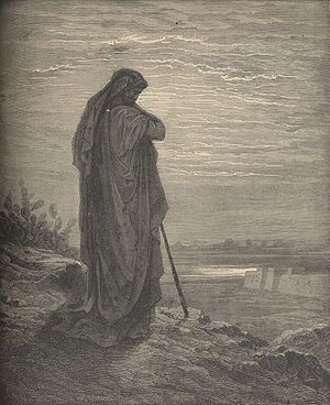 Engraving of the Prophet Amos by Gustave Doré ...