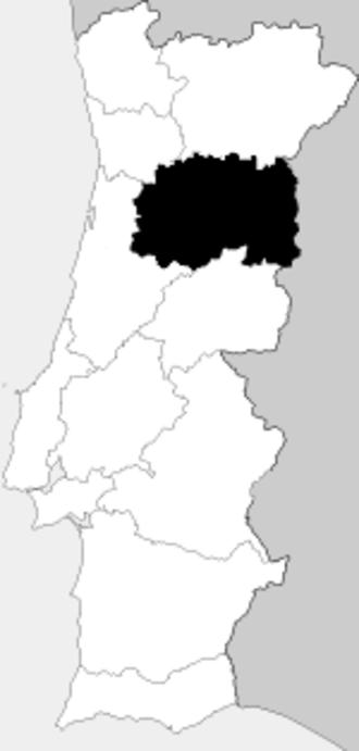 Beira (Portugal) - Image: Provincia Beira Alta