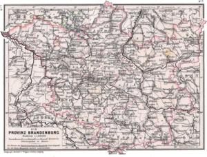 Provinz Brandenburg 1905
