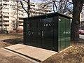 Public restroom kiosk (31701319968).jpg