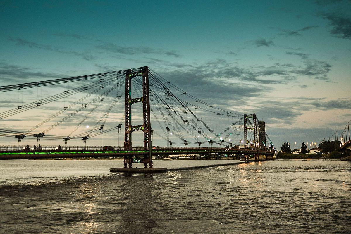 Puente colgante de Santa Fe - Wikipedia, la enciclopedia libre
