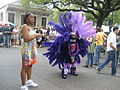 PurplePrincessInStreetUptownIndians2009.JPG
