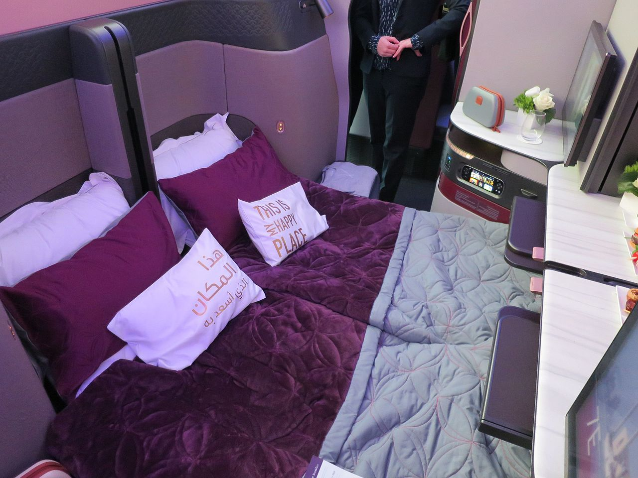 Qatar Airways becomes the Worlds First Airline to launch Double beds in Business Class