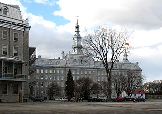 Séminaire de Québec - The Camille-Roy Building of the Séminaire de Québec