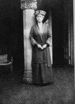 Adcote School -  Queen Mary. Queen Mary was a regular visitor to Adcote