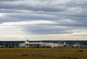 Piloto Civil Norberto Fernández International Airport - Image: Río Gallegos airport