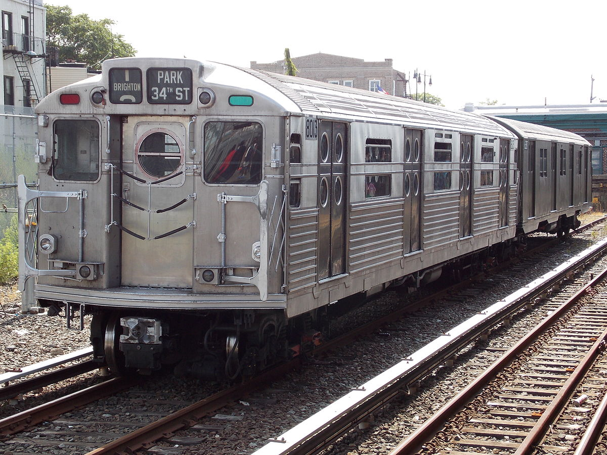 R11 R34 New York City Subway Car Wikipedia