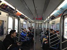r188 new york city subway car wikipedia. Black Bedroom Furniture Sets. Home Design Ideas