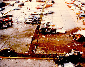 Far-left politics - Aftermath of the bombing on American Ramstein Air Base in 1981 by left-wing terrorist group RAF