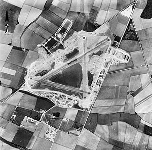 RAF Barkston Heath - Image: RAF Barkston Heath 16 April 1944 Annotated