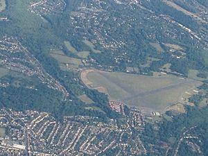 RAF Kenley - Aerial view of RAF Kenley