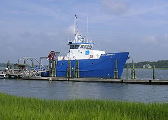 Skidaway Institute of Oceanography - The R/V Savannah research vessel at the Skidaway Institute of Oceanography