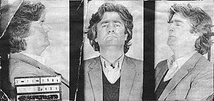 Radovan Karadžić - File picture taken upon Karadžić's arrest in November 1984