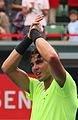 Rafael Nadal agradecimiento - 9920 2 Japan Open Tennis Tokio 2010.jpg