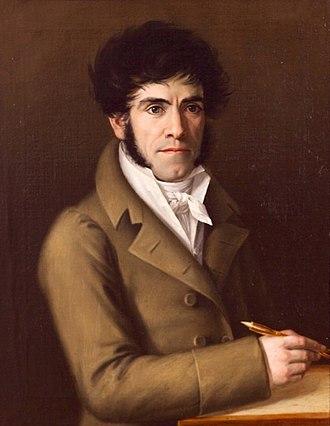 Rafael Tegeo - Self-portrait, 1818
