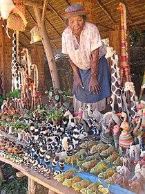 Rafia Animals (With Shopkeeper), Madagascar (3953369659).jpg