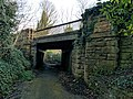 Railway Bridge 100 Metres West Of Hermitage Mill, Near Kings Mill Reservoir, Mansfield (4).jpg