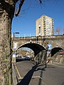 Railway bridge, Silchester Road, W10 (geograph 2860349).jpg