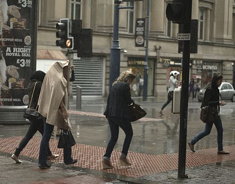 Although Manchester has a reputation as a rainy city, it is far from the wettest in the North. Rainy days (4979826462).jpg