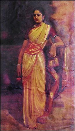 Raja Ravi Varma, Young Woman