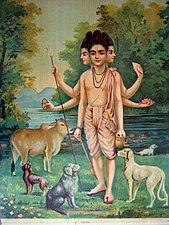 Raja Ravi Varma - Dattatreya.jpg