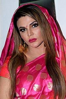 Rakhi Sawant Indian actress