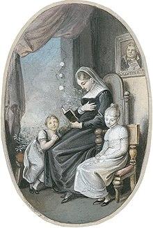 Ramberg's illustration for Jacob Glatz's Aureliens Stunden der Andacht (1820) (Source: Wikimedia)