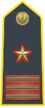 Rank insignia of luogotenente of the Guardia di Finanza.svg