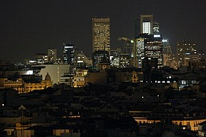 Rascacielos de Madrid desde el CBA 01