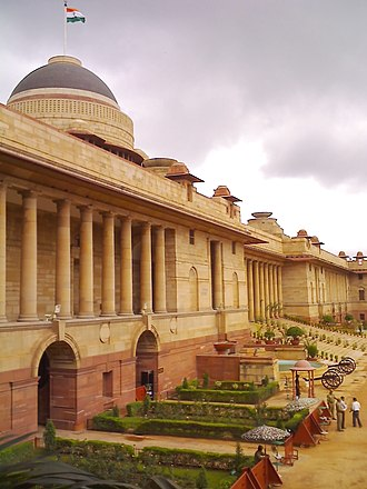 Rashtrapati Bhavan - Main facade