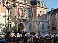 Rassemblement Charlie Hebdo, Chambéry 1.JPG