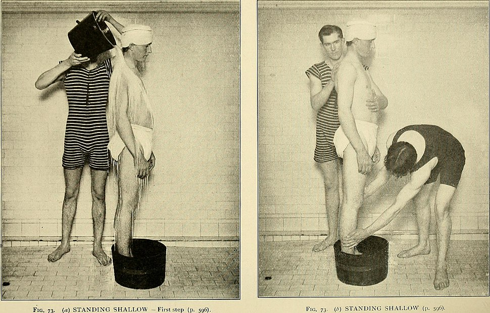 Rational hydrotherapy - a manual of the physiological and therapeutic effects of hydriatic procedures, and the technique of their application in the treatment of disease (1902) (14760420036)