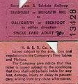 Ravenglass ^ Eskdale Railway tickets, 1972 - Flickr - sludgegulper.jpg