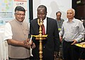 Ravi Shankar Prasad along with the Cabinet Secretary, Ministry of Information, Communications & Technology of Kenya.jpg