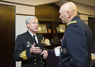 Steve Gilmore - Gilmore with General Raymond T. Odierno