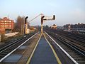 Raynes Park stn platform 1 and 2 eastbound look east3.JPG