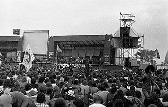 Rock festival - Image: Reading Festival 1975 (6)