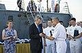 Reception with Ambassador Pyatt Aboard USS ROSS, July 24, 2016 (27968054073).jpg