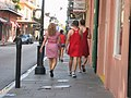 Red Dress Run Participants in the French Quarter 2009.jpg