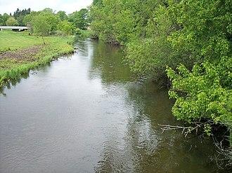 Redeye River - The Redeye River in Sebeka in 2007