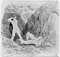 Redon - Eve découvrant le corps d'Abel, Vers 1865.jpg