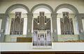 Reformierte Kirche Wattwil view of the organ from the ground floor.jpg