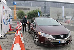 Honda FCX Fuel Cell Clarity, Hannover Messe 2013