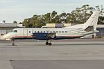 Regional Express Airlines (VH-ZXF), still wearing US Airways Express livery, Saab 340B at Wagga Wagga Airport.jpg