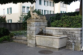 Deer fountain