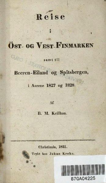File:Reise i Öst- og Vest-Finmarken.djvu