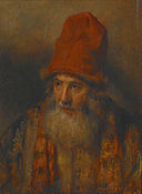 Rembrandt - Old Man with a Tall, Fur-edged Cap.jpg