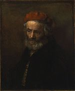 Rembrandt - Portrait of an old man in a red hat.jpg